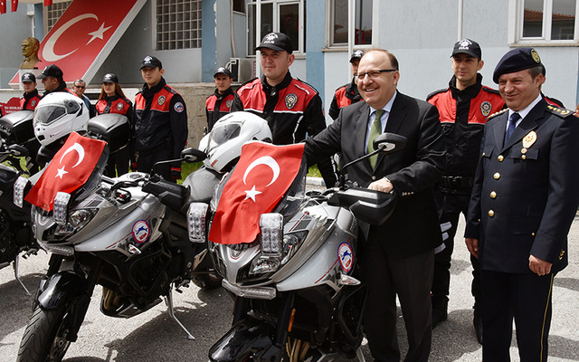 EMNİYET'E 10 YENİ MOTOSİKLET