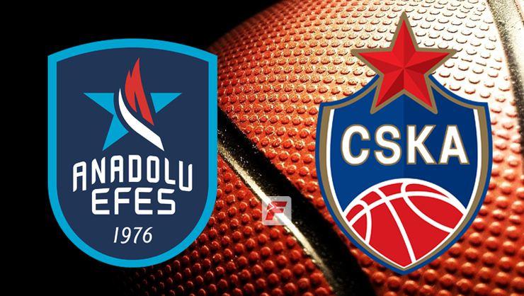 EURO LİG'DE FİNAL: ANADOLU EFES-CSKA MOSKOVA