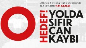 HEDEF YOLDA SIFIR CAN KAYBI
