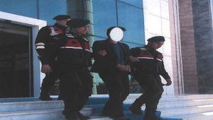 SİNANPAŞA'DA YAPILAN OKULDAN KALORİFERLERİ ÇALAN ŞAHIS YAKALANDI