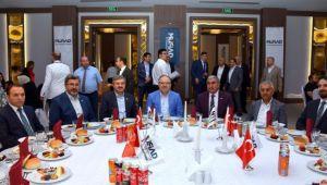 VALİ TUTULMAZ MÜSİAD'IN İFTAR PROGRAMINA KATILDI