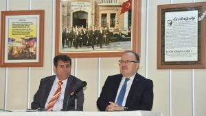 VALİ TUTULMAZ, SANDIKLI'DA MUHTARLARLA BİR ARAYA GELDİ