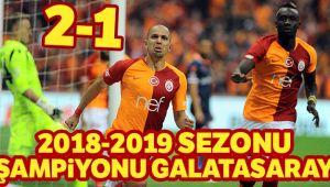 VE ŞAMPİYON GALATASARAY!..