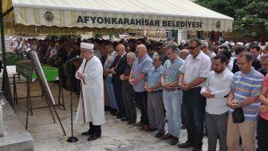 AFYON'DA ŞEHİT MURSİ İÇİN GIYABİ CENAZE NAMAZI KILINDI