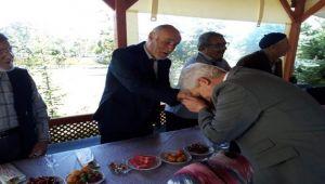 BAKAN YARDIMCISI AHMET KOCA, BOLVADİN'DE HUZUREVİ'Nİ ZİYARET ETTİ