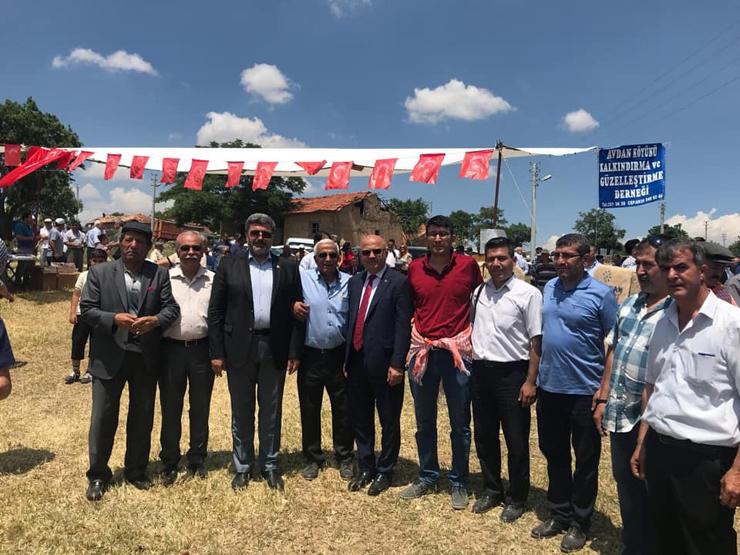 DİNAR'DA AVDAN KÖYÜ 14. BAHAR ŞENLİĞİ İKİNCİ BAYRAMI YAŞATTI