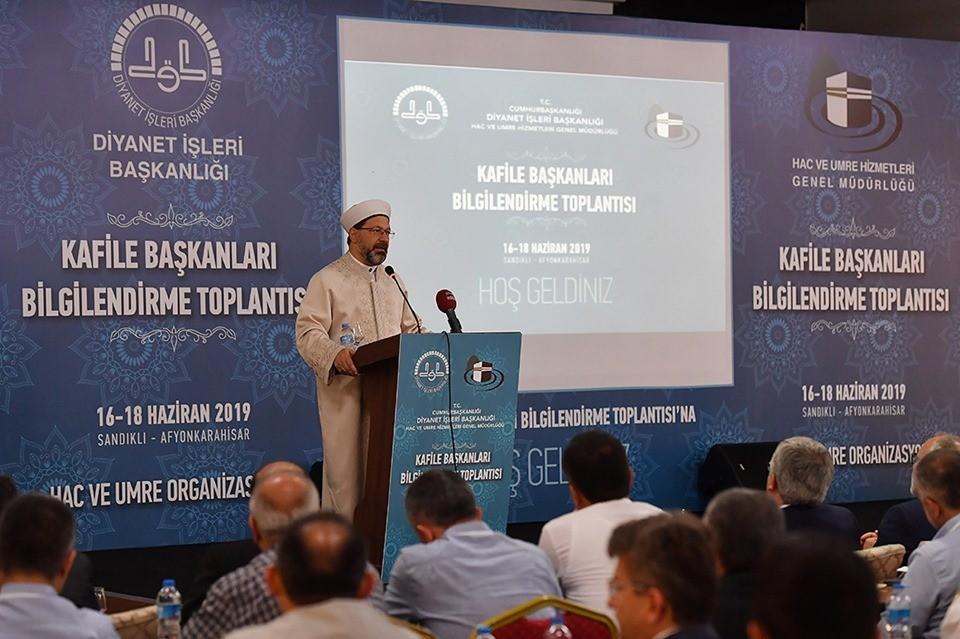 DİYANET İŞLERİ BAŞKANI PROF. DR. ALİ ERBAŞ'TAN ÖNEMLİ UYARILAR