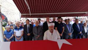 EMEKLİ TUĞGENERAL KAZIM ÜNAL AFYONKARAHİSAR'DA TOPRAĞA VERİLDİ