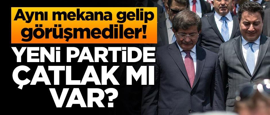 ENİŞTELER AYNI MEKANDA BİR ARAYA GELMEDİ!..