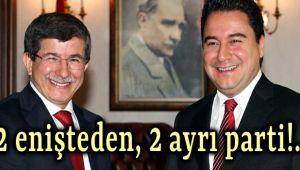 İKİ ENİŞTEDEN İKİ AYRI PARTİ!..