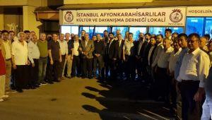 İSTANBUL'DA BAŞKAN MUSTAFA ÇÖL RÜZGÂRI ESİYOR
