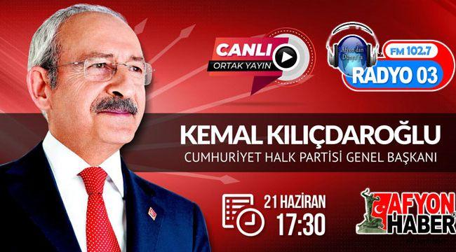 KEMAL KILIÇDAROĞLU FM 102.7 RADYO 03'TE