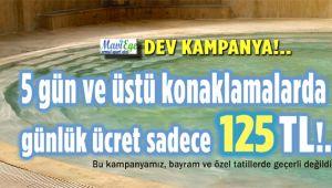 MAVİ EGE APART TERMAL'DE YAZ KAMPANYASI!..