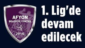 VOLEYBOL 1. LİGDE DEVAM EDECEK!..