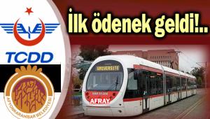 AFRAY'IN 1. ETAP ÖDENEĞİ TAHSİS EDİLDİ