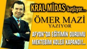 AFYON'DA EĞİTİMİN DURUMU / MEKTEBİM KOLEJİ KAPANDI!..