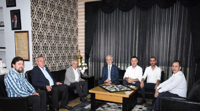 ZEYBEK'E ZİYARETLER DEVAM EDİYOR