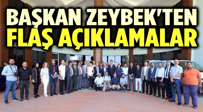 ZEYBEK, 100 GÜNDE YAPILANLARI ANLATTI!..