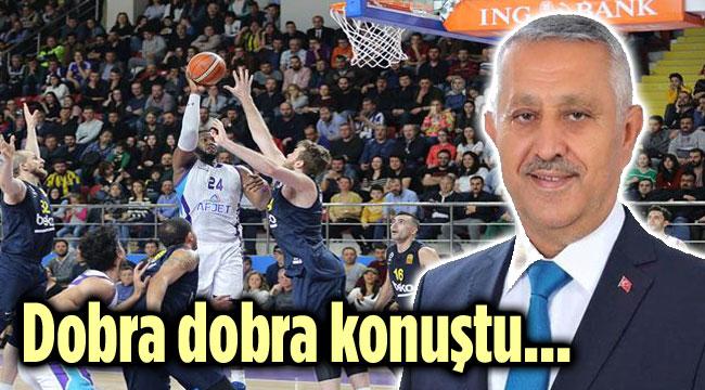 BAŞKAN ZEYBEK DOBRA DOBRA KONUŞTU!..