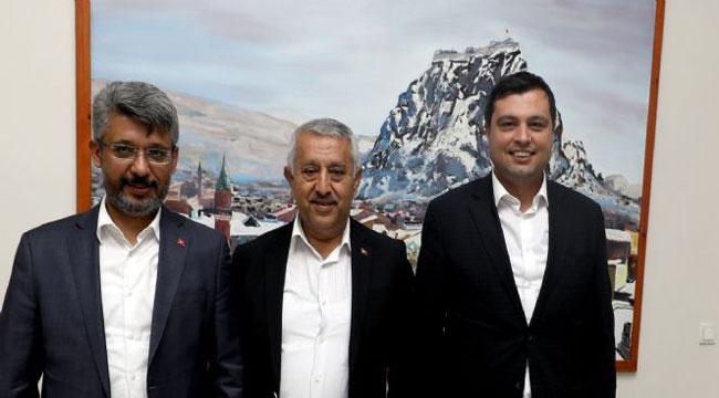BAŞKAN ZEYBEK'E ZİYARETLER DEVAM EDİYOR