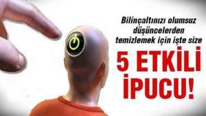 BİLİNÇALTI TEMİZLİĞİ!..