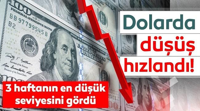 DOLAR'DAKİ DÜŞÜŞ DEVAM EDİYOR!..