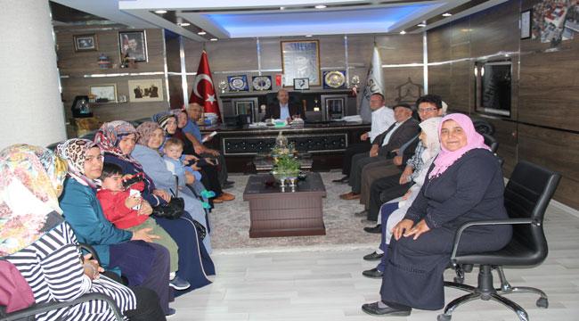 İSTİKLAL MAHALLESİ SAKİNLERİNDEN BOZKURT'A ZİYARET