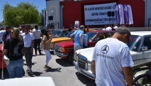 KLASİK MERCEDESÇİLER AFYON'DA BİRARAYA GELDİ