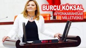 MİLLETVEKİLİ BURCU KÖKSAL, AFYONHABER'İ KUTLADI