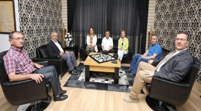MİLLETVEKİLİ BURCU KÖKSAL'DAN ZEYBEK'E ZİYARET