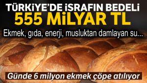 MİLLİ GELİRİN YÜZDE 15'İ İSRAF EDİLİYOR