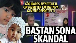 SKANDAL; ANNE VE 2 ÇOCUĞU ÇİN'E İADE EDİLDİ!..