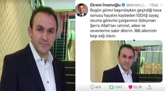 SÜLEYMAN ŞEN, TRAFİK KAZASINDA VEFAT ETTİ