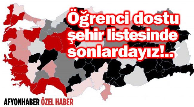ÜNİVERSİTE ÖĞRENCİLERİ, AFYONKARAHİSAR'DAN MEMNUN DEĞİL!..