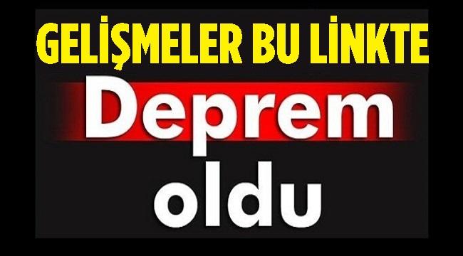 14.25'TE AFYON'DA DEPREM OLDU!.. MERKEZ ÜSSÜ DENİZLİ BOZKURT!..