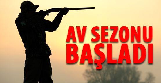 AV SEZONU BAŞLADI