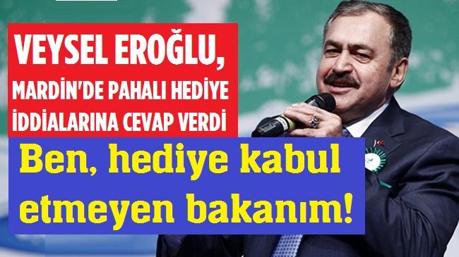 BEN HEDİYE ALMAYAN BAKANIM!..