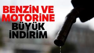 BENZİN VE MOTORİNDE BÜYÜK İNDİRİM!..