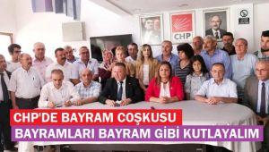 CHP'DE BAYRAMLAŞMA PROGRAMI