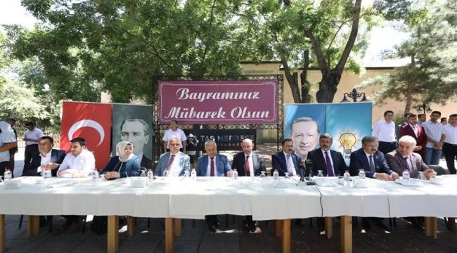 """""""GÜÇLÜ TÜRKİYE'NİN TEMİNATI AK PARTİ 18 YAŞINDA KALACAKTIR"""""""