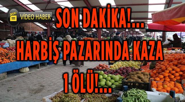 EŞİNİN ARABASINI TUTTU, 2 ARAÇ ARASINDA CAN VERDİ..