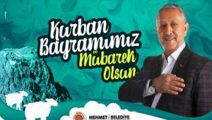 MEHMET ZEYBEK'TEN BAYRAM MESAJI