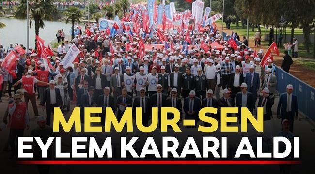 MEMUR-SEN'DEN EYLEM KARARI!..