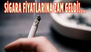 SİGARA FİYATLARINA ZAM GELDİ