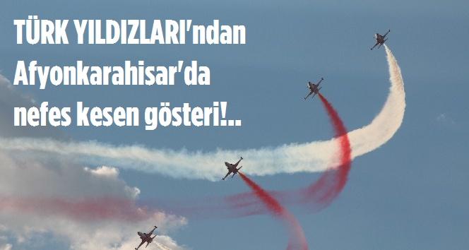 TÜRK YILDIZLARI NEFESLERİ KESTİ!..
