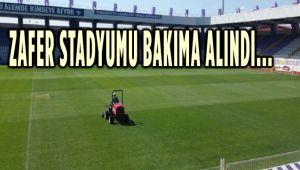 ZAFER STADYUMU BAKIMA ALINDI