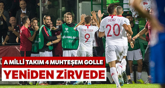 4-0 YENDİK, ZİRVEYE YERLEŞTİK!..
