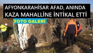 AFAD, ANINDA KAZA MAHALLİNE İNTİKAL ETTİ
