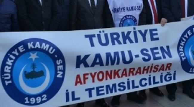 AFYONKARAHİSAR KAMU SEN'DEN HAKEM KURULUNA VE YETKİLİ SENDİKAYA SERT TEPKİ!..