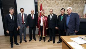 ZEYBEK'E AHİLİK KAFTANI TAKDİM EDİLDİ